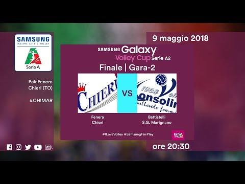 Chieri - S.G. Marignano | Gara-2 | Finale PlayOff Promozione | Samsung Galaxy Volley Cup Serie A2