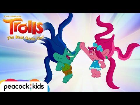 ASK POPPY: Branch's New Hairshake | TROLLS (NEW SHORTS)