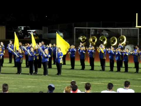 Benicia High School Marching Band 2016 National Anthem Homecoming