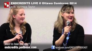 EndCredits Comicon 2014   Veronica Taylor