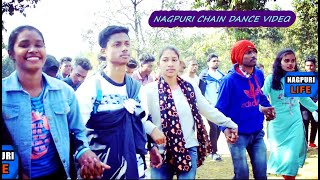 DJ  NAGPURI  CHAIN DANCE VIDEO  ||SADRI SAILO DANCE  SADRI GEET || NAGPURI DJ