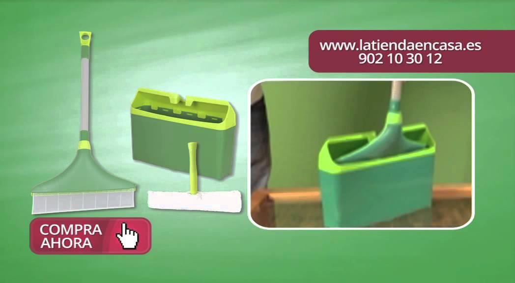 Limpia cristales Mr. Ti que no salpica - YouTube
