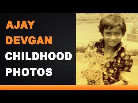 Ajay Devgan Childhood Photos