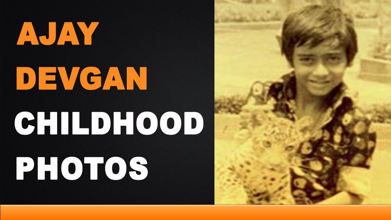 Ajay Devgan Childhood Photos Youtube