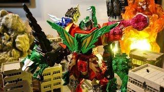 【リュウソウジャー】これがブロックトイの真髄!  DX タイガランス  開封レビュー ★騎士竜シリーズ04 グリーンリュウソウル 騎士竜戦隊 RYUSOULGER