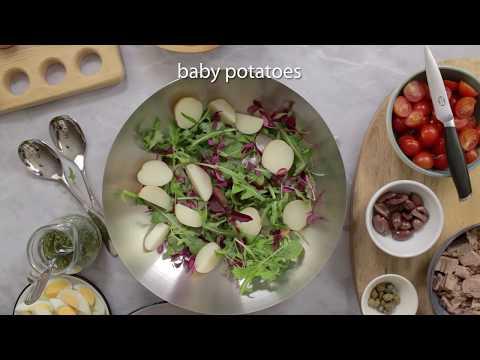 how-to-make-a-nicoise-salad-|-complete-meal-tuna-salad
