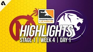 Florida Mayhem vs Los Angeles Gladiators | Overwatch League Highlights OWL Week 4 Day 1