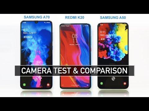 Samsung A70 Vs Redmi K20 (Mi 9T) Vs Samsung A50 Camera Test & Comparison