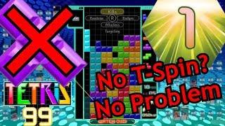 Tetris 99 - Casual Victory: 13 Kills, Zero T-Spins