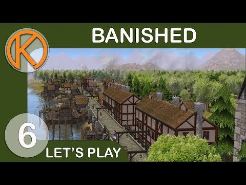 Banished DS Mod Pack | BROKEN TRADER - Ep. 6 | Let's Play Banished Gameplay