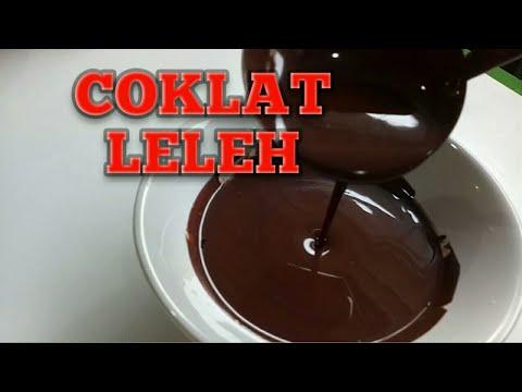 CARA MELELEHKAN COKLAT BLOK - HOW TO MELTING THE HARD CHOCOLATE