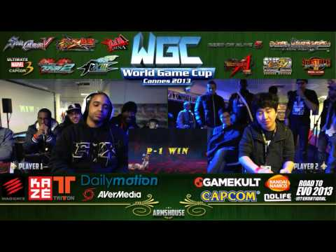 domtoms vs S.Korea  KOF World Team Cup 2013 KOFXIII