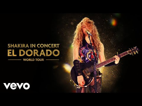 Shakira - Underneath Your Clothes (Audio - El Dorado World Tour Live)