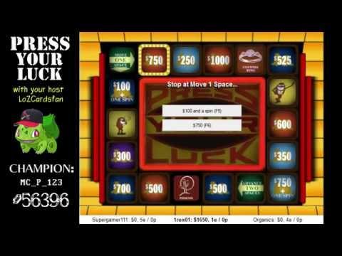 big bucks press your luck - photo #43