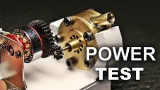 Micro Tesla Turbine Power Test