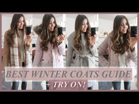 BEST WINTER COATS 2018 | TRY-ON + COLLECTION