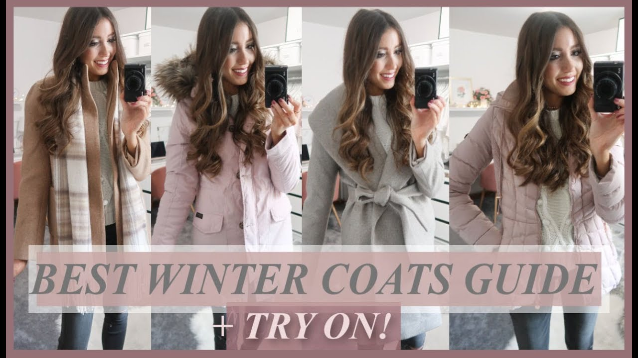 180a6d3e5bf6 BEST WINTER COATS 2018 | TRY-ON + COLLECTION - YouTube