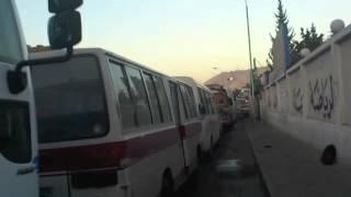 ازمة المازوت في قلب العاصمة دمشق 8-3-2012