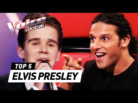BEST ELVIS PRESLEY Blind Auditions in The Voice Kids - Видео онлайн