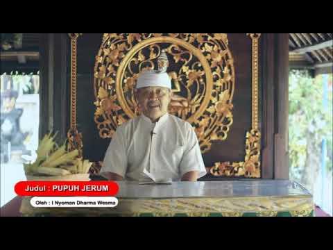 Pupuh Jerum - Kumpulan Kidung Dewa Yadnya Pura Puseh Desa Adat Denpasar