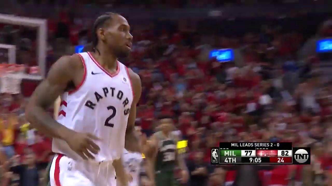 Kawhi Leonard Puts Raptors on His Back, Drops 36 in Double OT Win vs. Bucks