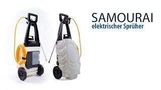 SAMOURAI - elektrischer Sprüher