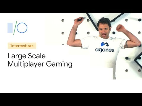 Large Scale Multiplayer Gaming with Open Source (Google I/O'19)