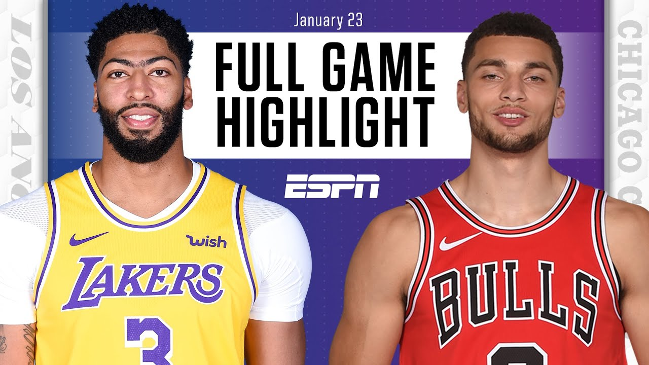 Lakers vs. Bulls - Game Recap - January 23, 2021 - ESPN