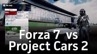 Forza Motorsport 7 PC vs Project Cars 2 | Let