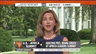 NBC White House Correspondent Chris Jansing - Obama is from Kenya