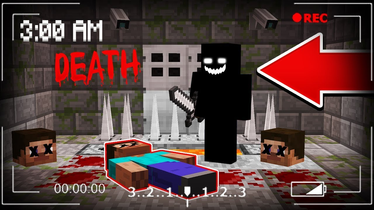 DO NOT PLAY THIS MINECRAFT MAP AT 12:12 AM!