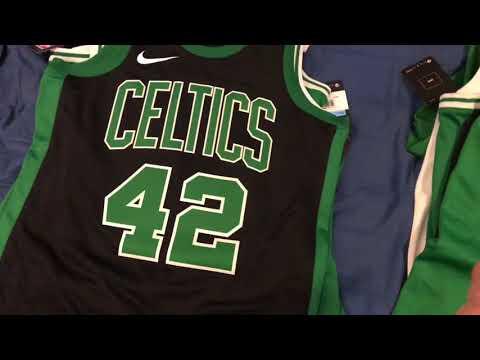 Boston Celtics Jersey Collection