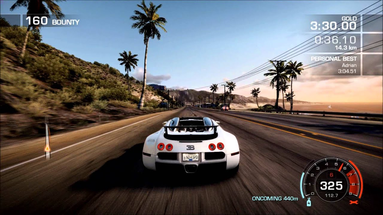 Bugatti Veyron Grand Sport In Need For Speed Hot Pursuit Video Game