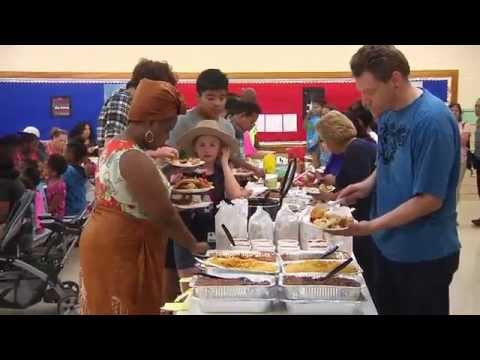 Mead Middle School Family Culture Night