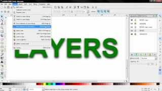 Layers PART 3 - Inkscape Beginners
