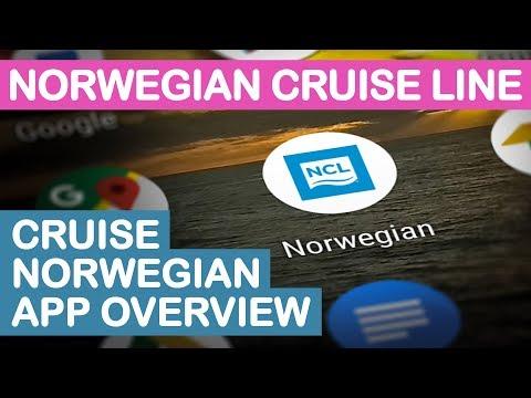 NCL Cruise Norwegian App Overview