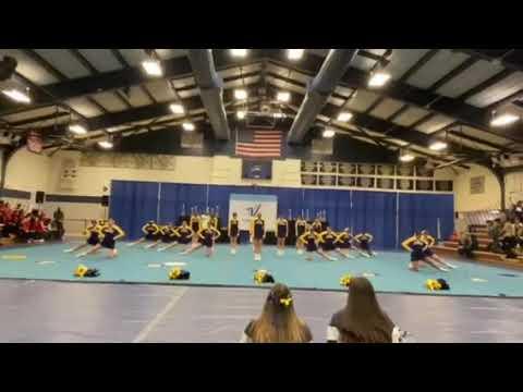 2019-2020 Nazareth Academy Cheerleading / UCA Regional Competition at Muhlenberg University