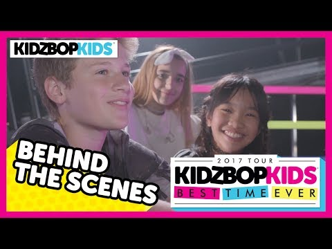 KIDZ BOP Kids - Best Time Ever Tour (Behind The Scenes)