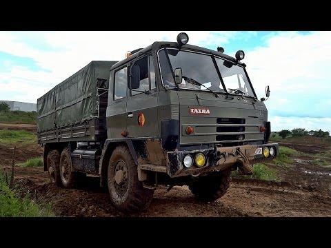 Tatra 815 6x6 military Truck off road & sound
