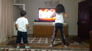 XBOX 360 KINECT Just Dance 4 Slow motion
