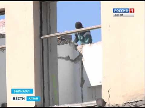 На месте школы №21 в Барнауле построят жилой дом