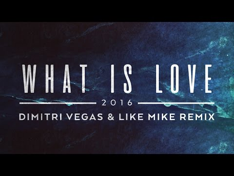 Lost Frequencies - What Is Love 2016 (Dimitri Vegas & Like Mike Remix) [Cover Art]
