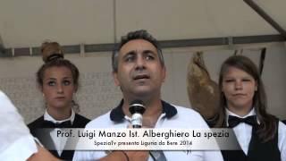 Gambar cover Liguria da bere 2014 SpeziaTv intervista il Prof.Luigi Manzo