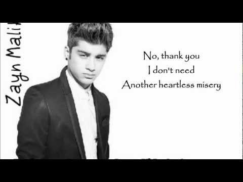 One Direction - Taken (lyrics+pictures)