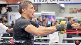 Gennady Golovkin's COMPLETE Strength & Conditioning Workout Video