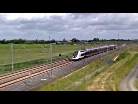 LE 7 JUIN 2017 TGV PARIS BORDEAUX 2H08