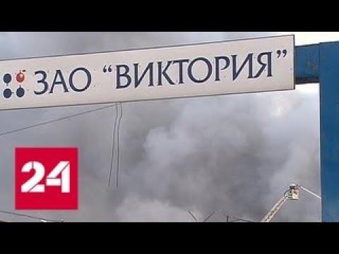 На востоке Москвы горит склад - Россия 24