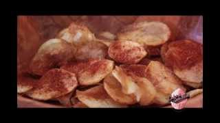 how to make crispy potato chips at home