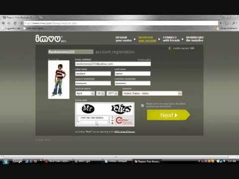 free credits imvu online dating
