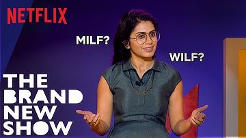 Prashasti Singh Doesn't Want To Be Called A MILF | The Brand New Show | Netflix India